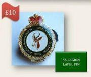 SA Legion Lapel Pin