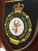 SA Legion Shield with standard background