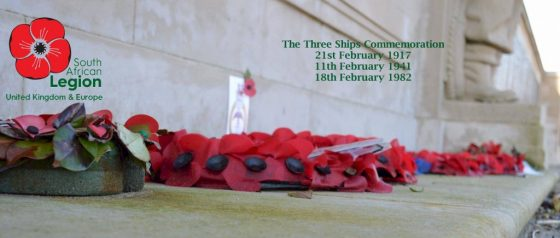 Three Ships Commemoration @ South African Cenotaph | England | United Kingdom
